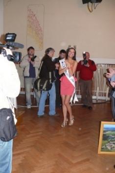Uvítání České Miss Jitky Válkové 27.3.2010